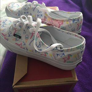Vans sneakers. Women's size 7.5. Brand new in box.